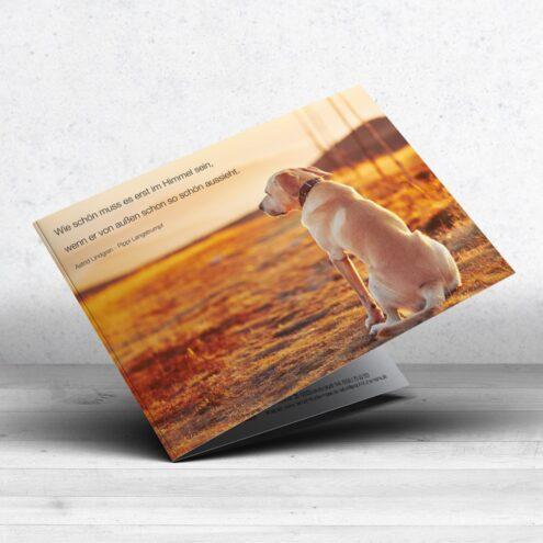 Trauerkarte und - Motiv 11 im Ruhmservice Shop