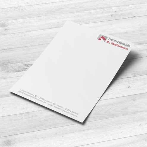 Notizblock für Tierärzte im Format A5 - von Ruhmservice Consulting