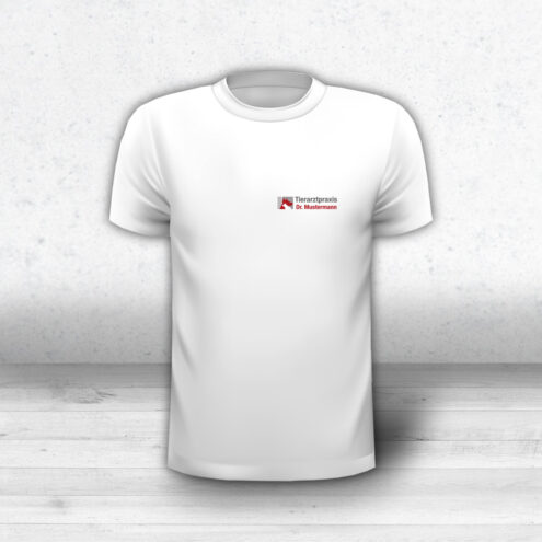 T-Shirt Tierarzt Logo