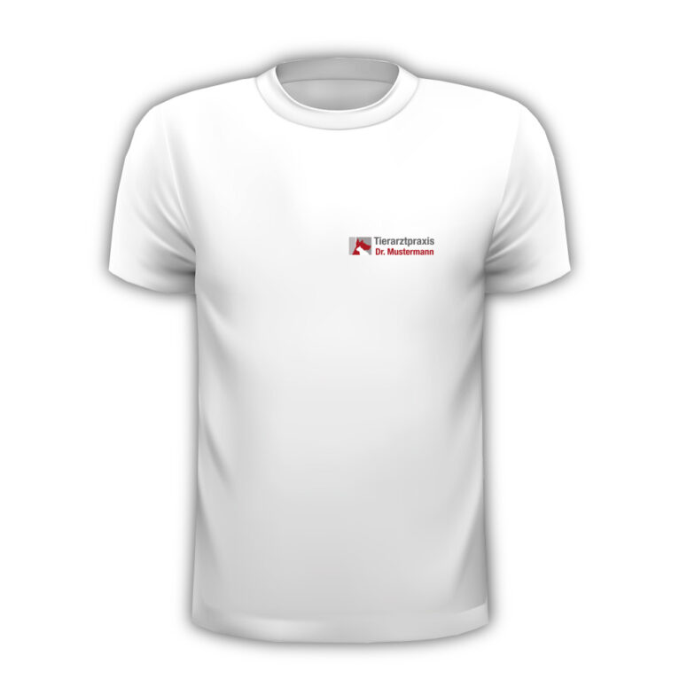 T-Shirt Tierarztpraxis mit Logo