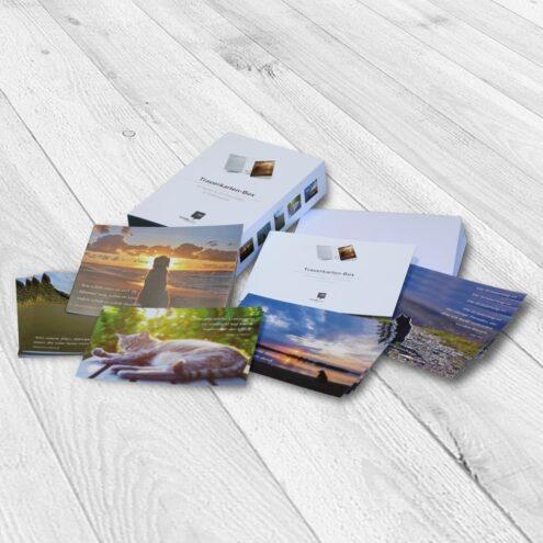 trauerkarten für tiere ruhmservice box