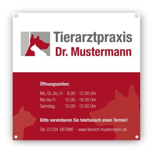 Tierarzt Schild ruhmservice.de