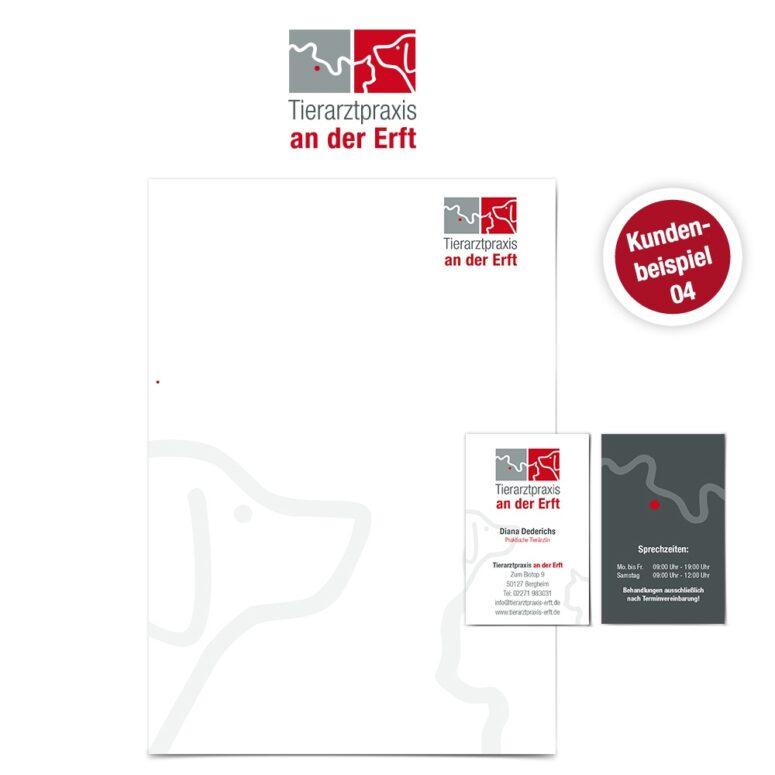 Logo Design für Tierärzte 04