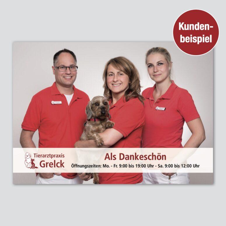 marketing tierarzt empfehlung