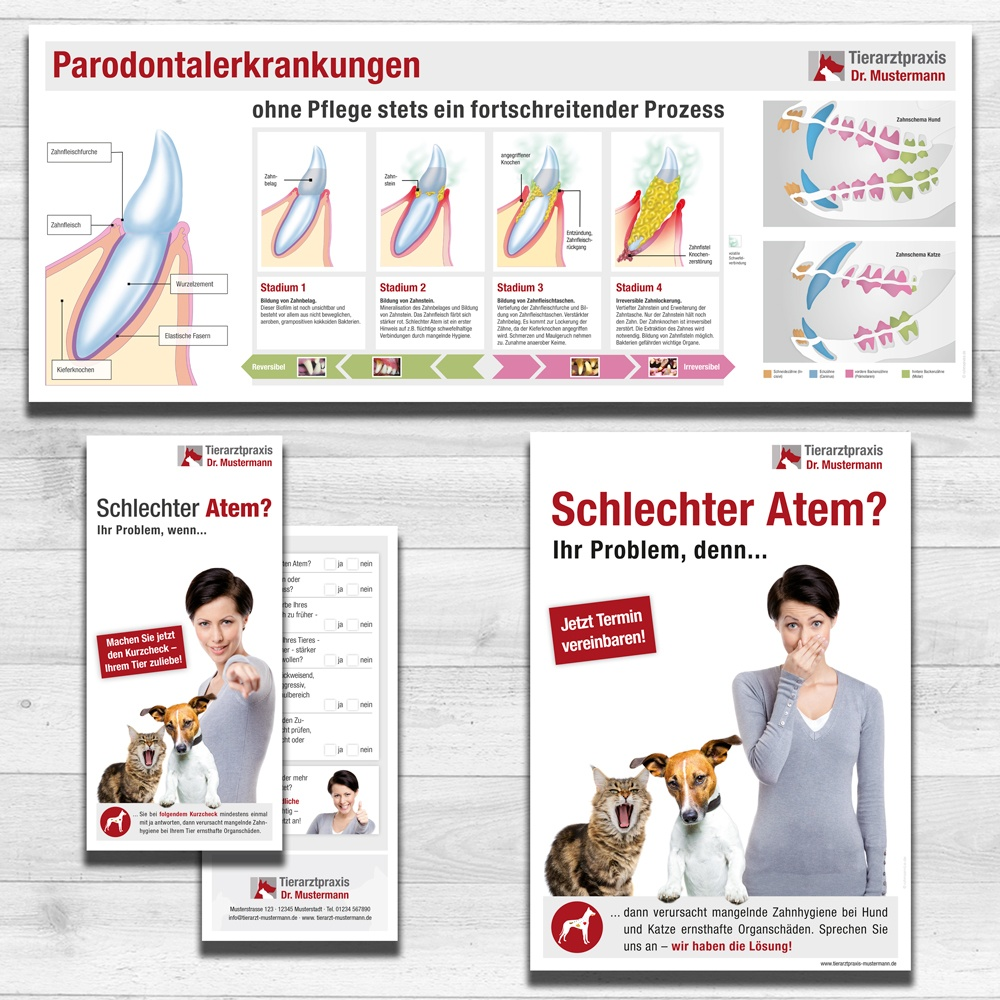 Kundeninformation Dental Tierarztpraxis