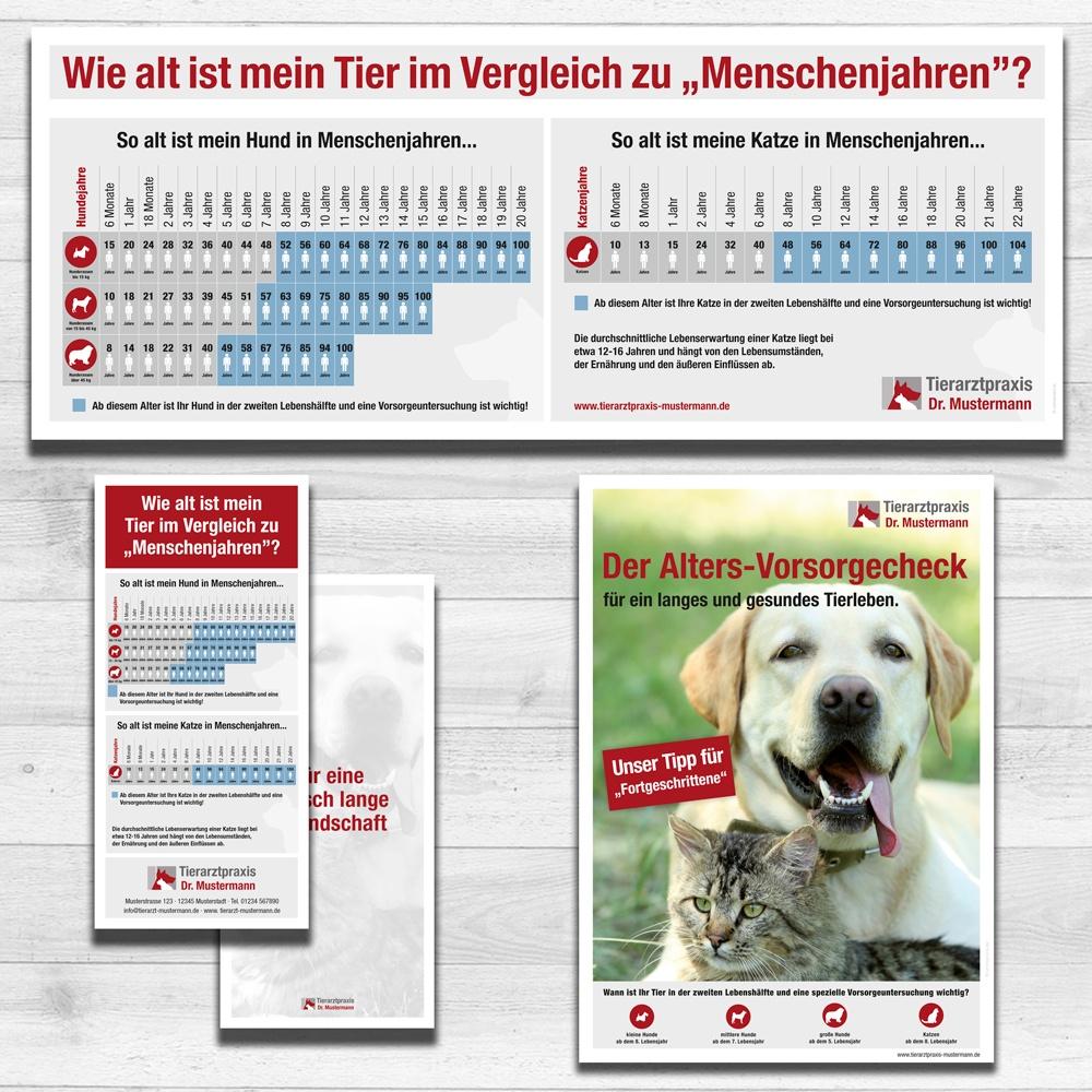 Kundeninformation Geriatrie und Altersvorsorge Tierarztpraxis