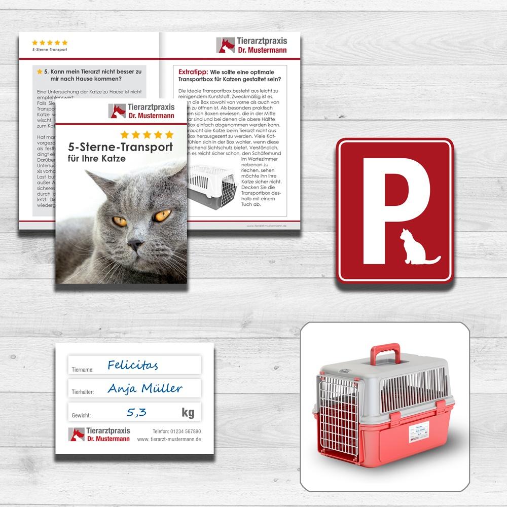 Katzenfreundliche Tierarztpraxis Kommunikationsmedien