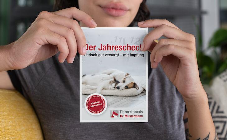 tierarzt_jahrescheck_impfung_postkarte_ruhmservice